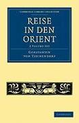 Reise in den Orient 2 Volume Paperback Set