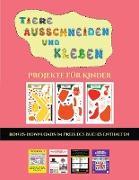 Projekte für Kinder (Tiere ausschneiden und kleben