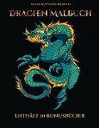 Buch Ausmalvorlagen (Drachen Malbuch)