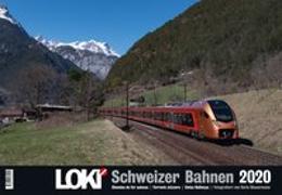 LOKI-Kalender Schweizer Bahnen 2020
