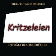 Therapeutisches Malbuch (Kritzeleien)