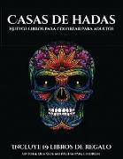 Nuevos libros para colorear para adultos (Casas de hadas)