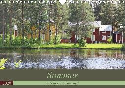 Sommer in Schwedens Lappland (Wandkalender 2020 DIN A4 quer)