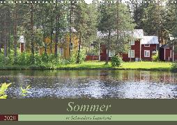Sommer in Schwedens Lappland (Wandkalender 2020 DIN A3 quer)