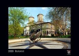 Bukarest 2020 - Black Edition - Timokrates Wandkalender, Bilderkalender, Fotokalender - DIN A4 (ca. 30 x 21 cm)