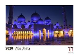 Abu Dhabi 2020 - Timokrates Tischkalender, Bilderkalender, Fotokalender - DIN A5 (21 x 15 cm)