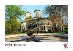Bukarest 2020 - Timokrates Tischkalender, Bilderkalender, Fotokalender - DIN A5 (21 x 15 cm)
