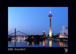 Düsseldorf 2020 - Black Edition - Timokrates Wandkalender, Bilderkalender, Fotokalender - DIN A4 (ca. 30 x 21 cm)
