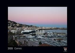 Cannes 2020 - Black Edition - Timokrates Wandkalender, Bilderkalender, Fotokalender - DIN A4 (ca. 30 x 21 cm)