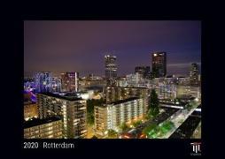 Rotterdam 2020 - Black Edition - Timokrates Wandkalender, Bilderkalender, Fotokalender - DIN A4 (ca. 30 x 21 cm)