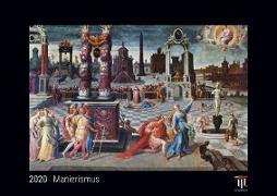 Manierismus 2020 - Black Edition - Timokrates Wandkalender, Bilderkalender, Fotokalender - DIN A4 (ca. 30 x 21 cm)
