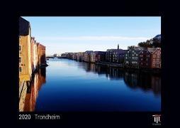 Trondheim 2020 - Black Edition - Timokrates Wandkalender, Bilderkalender, Fotokalender - DIN A4 (ca. 30 x 21 cm)