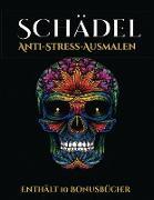 Anti-Stress-Ausmalen (Schädel)