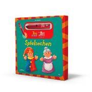 Tipp-drauf-LÜK. Bilderbuch Spielsachen + Stift