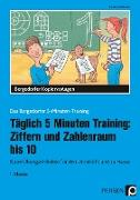 Täglich 5 Minuten Training: Ziffern und ZR bis 10