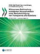 OECD/G20 Projekt Gewinnverkurzung Und Gewinnverlagerung Wirksamere Bekampfung Schadlicher Steuerpraktiken Unter Berucksichtigung V