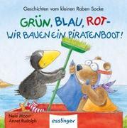 Der kleine Rabe Socke: Grün, Blau, Rot – Wir bauen ein Piratenboot! – Mini-Ausgabe