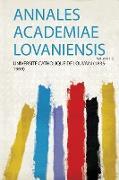 Annales Academiae Lovaniensis