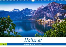 Hallstatt - Impressionen im FrühlingAT-Version (Wandkalender 2020 DIN A3 quer)