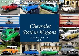 Chevrolet Station Wagons - US-Kombis der Fünfziger Jahre (Tischkalender 2020 DIN A5 quer)