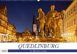 QUEDLINBURG FÜR NACHTSCHWÄRMER (Wandkalender 2020 DIN A2 quer)