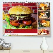 Burger 2020. Kulinarische Impressionen (Wandkalender 2020 DIN A2 quer)