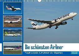 Die schönsten Airliner (Wandkalender 2020 DIN A3 quer)