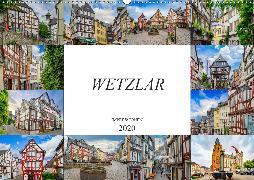 Wetzlar Impressionen (Wandkalender 2020 DIN A2 quer)