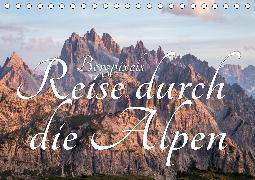 Bergpixel´s Reise durch die Alpen (Tischkalender 2020 DIN A5 quer)