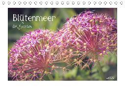 Blütenmeer im Garten 2020 (Tischkalender 2020 DIN A5 quer)