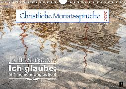 Christliche Monatssprüche 2020 (Wandkalender 2020 DIN A4 quer)
