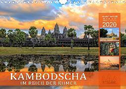 KAMBODSCHA IM REICH DER KHMER (Wandkalender 2020 DIN A4 quer)