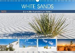 WHITE SANDS Die weiße Wüste in New Mexico (Wandkalender 2020 DIN A3 quer)