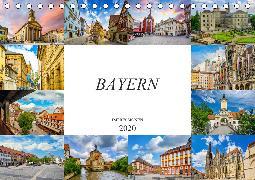 Bayern Impressionen (Tischkalender 2020 DIN A5 quer)