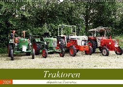 Traktoren - Altgediente Veteranen (Wandkalender 2020 DIN A2 quer)