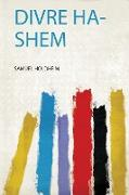 Divre Ha-Shem