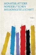 Monatsblatt Der Norddeutschen Missionsgesellschaft
