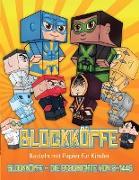 Basteln mit Papier für Kinder (Blockköpfe - Die Geschichte von S-1448)