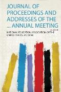 Journal of Proceedings and Addresses of the ... Annual Meeting