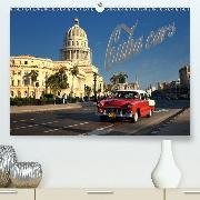 Cuba Cars (CH-Version)(Premium, hochwertiger DIN A2 Wandkalender 2020, Kunstdruck in Hochglanz)