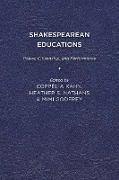 Shakespearean Educations