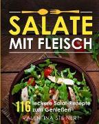 Salate mit Fleisch