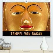 Tempel von Bagan(Premium, hochwertiger DIN A2 Wandkalender 2020, Kunstdruck in Hochglanz)