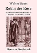 Robin der Rote (Großdruck)