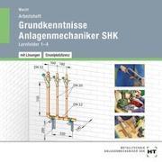 Arbeitsheft mit eingetragenen Lösungen auf CD Grundkenntnisse Anlagenmechaniker SHK