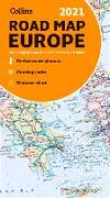 2021 Collins Road Map Europe