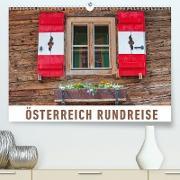 Österreich Rundreise(Premium, hochwertiger DIN A2 Wandkalender 2020, Kunstdruck in Hochglanz)
