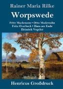 Worpswede (Großdruck)