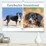 Entlebucher Sennenhund - treue Freunde(Premium, hochwertiger DIN A2 Wandkalender 2020, Kunstdruck in Hochglanz)