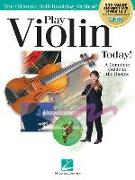 Play Violin Today! Beginner's Pack: Method Books for Levels 1 & 2 Plus Online Audio & Video Access